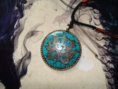 Tibet Turquoise Stretchable Necklace by YYworkshop on Etsy