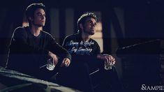 Damon & Stefan || Say Something