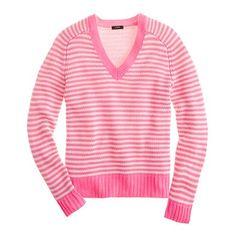 J. Crew cotton sweater. I still love the neon!