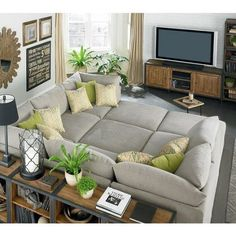 Great to have sofa like this one in the TV room. Love it <3
