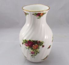 "Royal Albert Old Country Roses 8 ""váza Fine Bone China England"