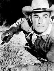 Randolph Scott....1898-1987....Movie Westerns....Horse's name was Stardust....Love that he came out of retirement to make a movie with Joel McCrae....