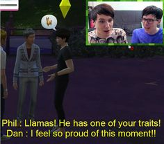 Look at Dan's face though... The face of a truly happy and surprised father... I'M SO PROUD AS WELL!!!