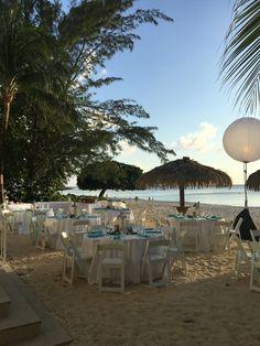Welcome dinner, Cayman Islands