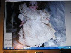 Cute dress for all bisque doll.