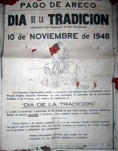 10° Fiesta de la Tradición, 1948.