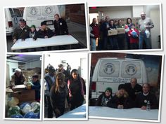 The Temple & the Rotary Club of Carroll Creek help at the Rescue Mission Christmas Turkey Give away!