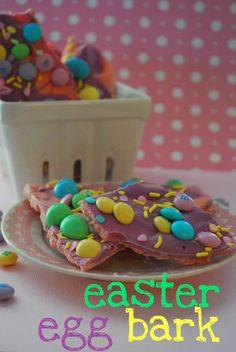 Easter Egg Bark!