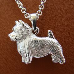 Excited to share this item from my shop: Small Sterling Silver Norwich Terrier Standing Study Pendant Norwich Terrier, Pitbull Terrier, Cairn Terriers, Best Dog Breeds, Dog Jewelry, West Highland Terrier, American Pit, Boxer Dogs, Pet Dogs