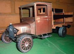 Ford Model T Delivery Truck Paper Model  This model is $5. Fabulous, love it.