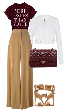 """Unlimited."" by operationvogue ❤ liked on Polyvore featuring sass & bide, STELLA McCARTNEY, Chanel and TIBI"