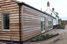 Projects of Jonathan W Burton - Architectural Design Services of Dereham, Norfolk and Suffolk Garage Renovation, Caravan Renovation, Bungalow Renovation, Caravan Makeover, Larch Cladding, Shiplap Cladding, Exterior Cladding, Brick Extension, Extension Google