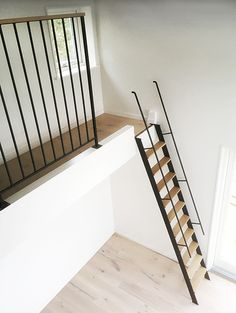 Inventive Staircase Design Tips for the Home – Voyage Afield Loft Staircase, Attic Stairs, House Stairs, Staircase Design, Tiny Loft, Attic Bedrooms, Loft Room, Sleeping Loft, Interior Stairs