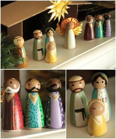 Admire the nativity with family: A Christmas Nativity Craft For The Whole Family - mom.me