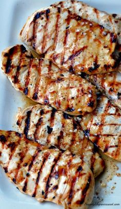 The BEST Grilled Chicken EVER