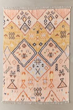 Shop Aziza Printed Chenille Rug at Urban Outfitters today. We carry all the latest styles, colors and brands for you to choose from right here. Chenille, Tier Wallpaper, Classic Rugs, Shops, My New Room, Textiles, Woven Rug, Warm Colors, Teenage Room Decor