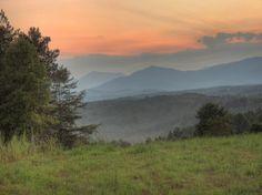 blue ridge mountains sunset | Living in The Blue Ridge Mountains of North Carolina- A Blog