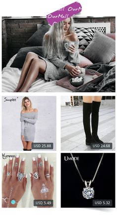 This is Kristina Dolinskaya's buyer show in OurMall; totally wearing four items below: 1.off shoulder knitted bodycon dress Women long sleeve autumn sexy dress 2016 party 2.Winter Boots Over-The-Knee Thigh High Boots Women Boots  Mid Heel  Knitting Wool  Stretch Martin 3.New Vintage Si...If you'd like to buy above, please click the picture for detail. http://ourmall.com/?nYjuqu