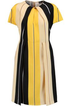 Fendi Striped silk dress | THE OUTNET
