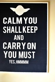 Yoda Carry On poster for Star Wars bedroom - Decor It Darling Star Wars Classroom, Star Wars Bedroom, We Have A Winner, Star Wars Decor, Another Day In Paradise, Another A, Character Quotes, Star Wars Party, Humor