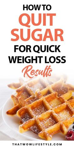 Learn how to boost your weight loss by one simple trick, quitting sugar. If you want to lose more weight and quickly, you've got to cut down on your added sugar cravings or addictions. Click to…