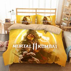 Description: Item Is Customize Style,The Producing Time Is Days. Microfiber,Soft and Comfortable. Dyeing,Never Lose Color. Newest Design,Mortal Kombat and Personality. Total Have Duvet Pillowcases(Twin Size Have Any Quilt/Comforter/Fill