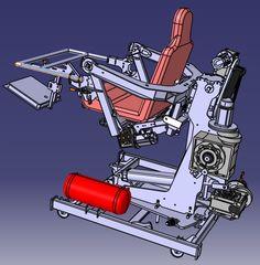 Full 2-3- 6 DOF motion simulator platform for Flight Simulator