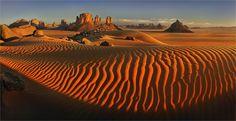 """""""Sahara"""" - sand dunes in Algeria"""