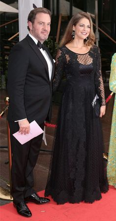 Christopher O'Neill and Swedish Princess Madeleine attends Gala Dinner Events in aid of the WCF in Berns, Stockholm, 2014-09-08