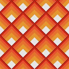 arte de patchwork: log cabin                                                                                                                                                                                 Más