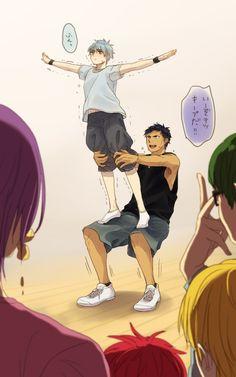 Kiseki no Sedai (Generation Of Miracles) - Kuroko no Basuke - Mobile Wallpaper - Zerochan Anime Image Board Manga Anime, Fanarts Anime, Otaku Anime, Anime Guys, Anime Characters, Kuroko No Basket, Kurokos Basketball, Basketball Practice, Aomine Kuroko