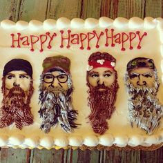 Nothing more fun than a Duck Dynasty birthday, Jack!