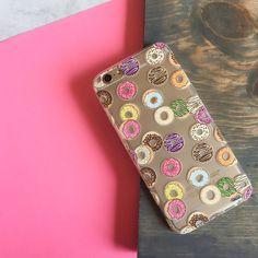 Donut Pandemonium - Clear TPU Case Cover