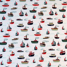 Our 28 in X 52 in crib sheets are cotton to ensure your children get the most comfortable sleep possible. Everything we sell is made in the USA! Toddler Sheets, Blue Boat, Mini Crib, Tug Boats, Colour Pallete, Coordinating Fabrics, Riley Blake, Travel Themes, Crib Sheets