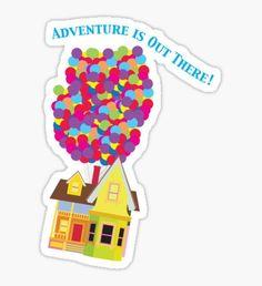 Pegatina Balloon House Tee