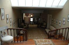 Interior shot of Bantry House, Ireland.