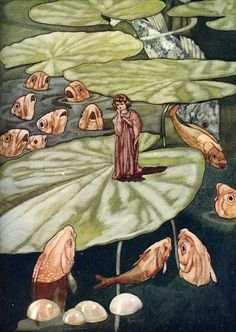 Art of Narrative Charles Robinson Thumbelina