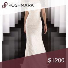 Martina Liana Wedding Dress Size 10 (fits size 4). Beautiful crystals and sweetheart neckline Martina Liana Other