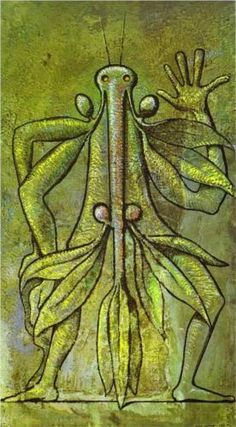 Max Ernst: Human Form (1931)