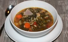 White Bean and Kale Soup — Confident Cook, Hesitant Baker -