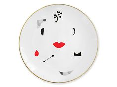 """Kiss"" plate / Talerz ""Kiss"""