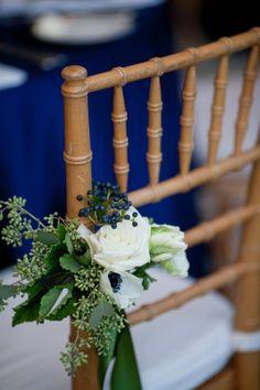 Reception Seat Decorations