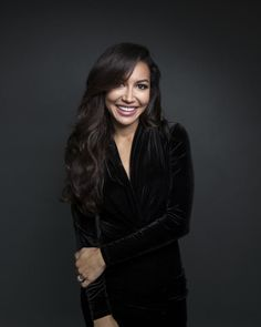 Naya Rivera poses for a portrait in New York