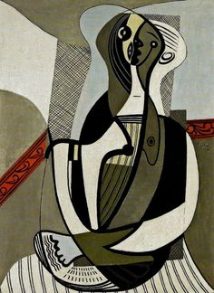 Pablo Picasso Seated Woman, 1927