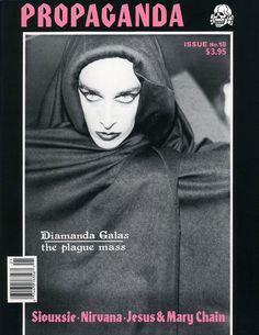 Propaganda cult goth magazine archives