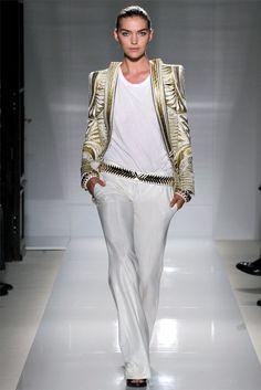 Balmain, Paris Fashion Week, Runway, Spring, Spring 2012