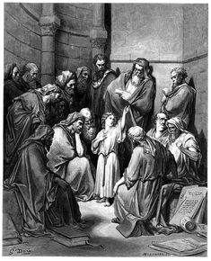 6. Jesus with the Doctors (Gustave Doré)