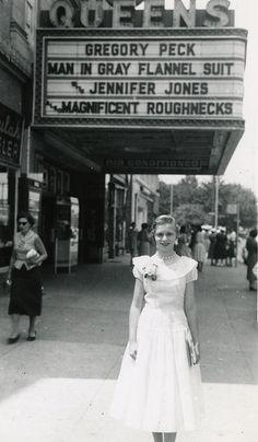 P Jr High prom 1956 by mdintenfass.