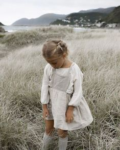 Another sneak peek from one of my favourites 🌾 The Märta Apron dress arriving in new season colours, next month. Little Girl Fashion, Toddler Fashion, Fashion Kids, Cute Kids, Cute Babies, Kids Mode, Bebe Love, Outfits Niños, Moda Boho