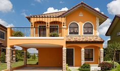 Lladro house model philippines - House and home design 2 Storey House Design, House Front Design, Small House Design, Modern House Design, Dream House Exterior, Exterior House Colors, Modern Bungalow House, House Design Pictures, Mexico House